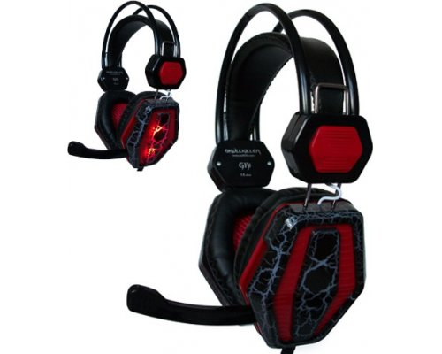 AURICULARES + MICRO SKULLKILLER GHI GAMING LED