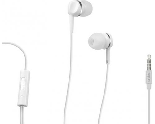 AURICULARES + MICRO SBS STUDIO MIX 10 IN-EAR WHITE