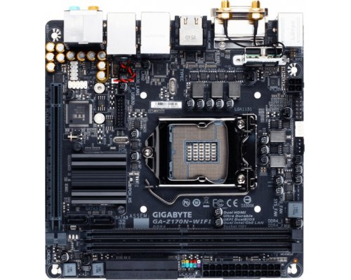 PLACA BASE s1151 GIGABYTE Z170N-WIFI mITX (DDR4)