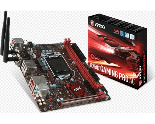 PLACA BASE s1151 MSI B250I GAMING PRO AC mITX