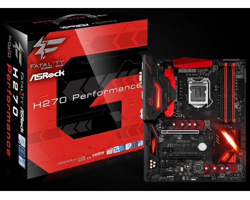 PLACA BASE s1151 ASROCK FATAL1TY H270 PERFORMANCE