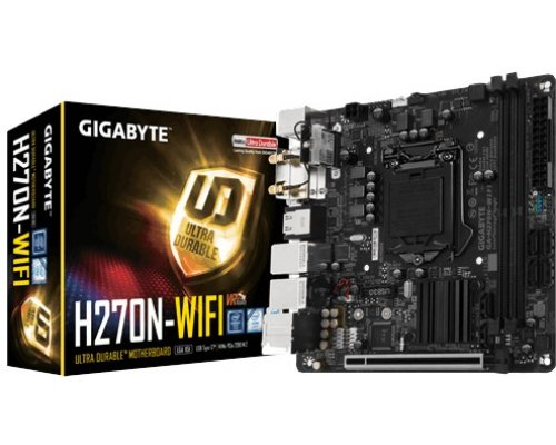 PLACA BASE s1151 GIGABYTE H270N-WIFI mITX