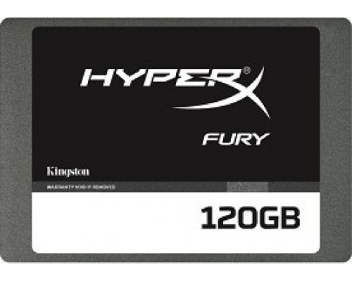 "SSD 120GB 2.5"" KINGSTON HYPERX FURY SATA3 500MB/s"