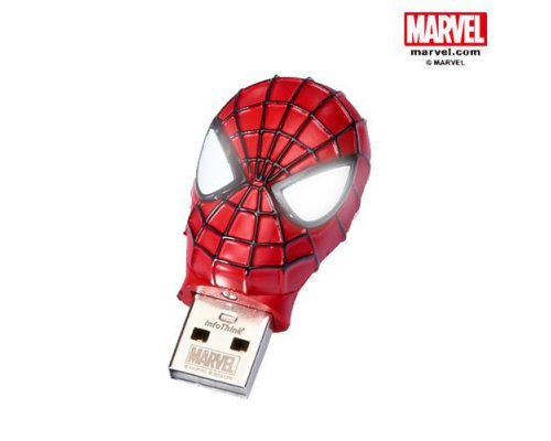 PENDRIVE 8GB CABEZA DE SPIDERMAN