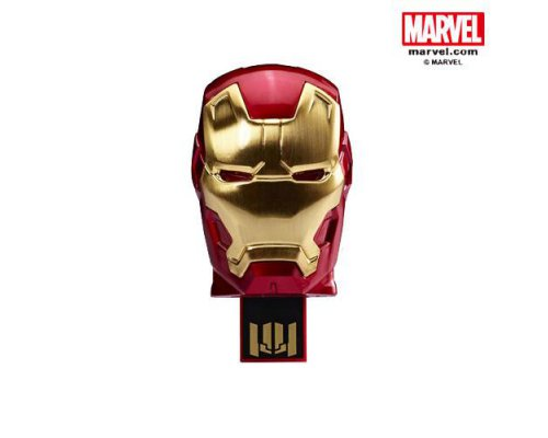 PENDRIVE 8GB CABEZA IRONMAN