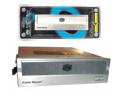 FRONTAL CD/DVD COOLERMASTER ALUMINIO