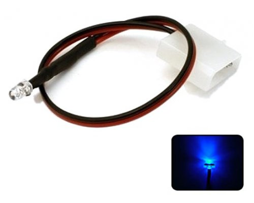 LED AZUL 5mm ALTO BRILLO