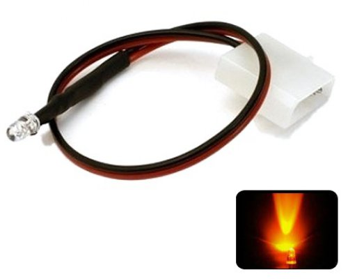LED NARANJA 5mm ALTO BRILLO