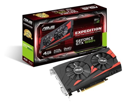 GRÁFICA nVIDIA ASUS GTX1050Ti EXPEDITION 4GB GDDR5
