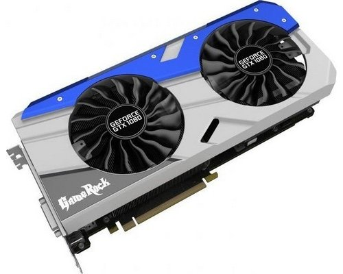 GRÁFICA nVIDIA PALIT GTX1080 GAME ROCK 8GB GDDR5