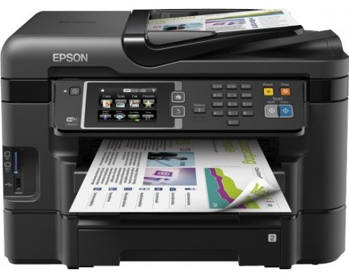 IMPRESORA MULTIFUNCIÓN EPSON WORKFORCE WF-3640DTWF WIFI LAN