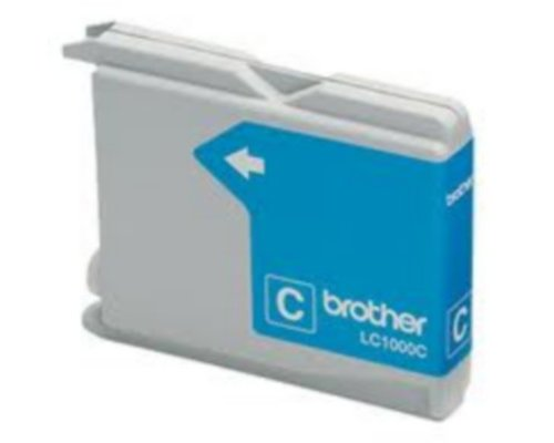 CARTUCHO COMPATIBLE BROTHER LC1000C/LC970C CIAN