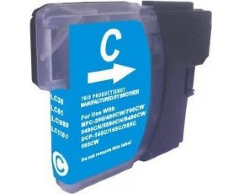 CARTUCHO COMPATIBLE BROTHER LC1100C/LC980C CIAN