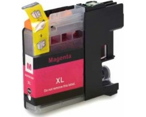 CARTUCHO COMPATIBLE BROTHER LC121/123M MAGENTA