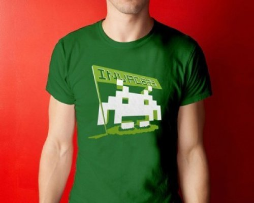 CAMISETA SPACE INVADERS (L)