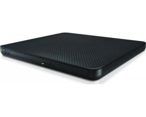 REGRABADORA DVD±RW ULTRA-SLIM EXTERNA LG USB BLACK