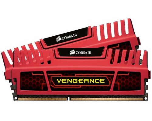 MEMORIA RAM DDR3 2133 CORSAIR VENGEANCE RED 2x4GB