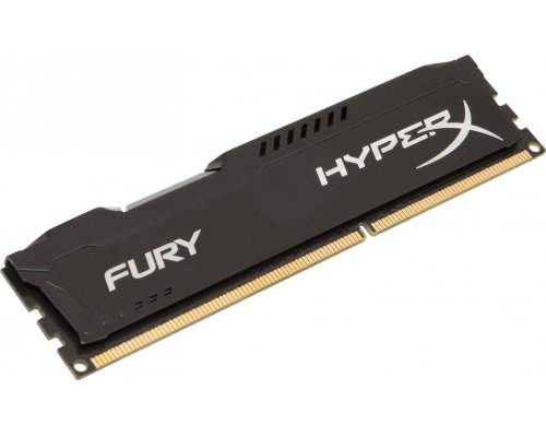 MEMORIA RAM DDR3 1333 KINGSTON HYPERX FURY BLACK 4GB