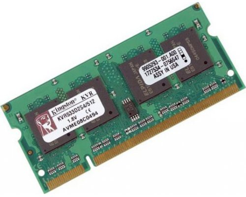 MEMORIA RAM SODIMM DDR2 533 KINGSTON 512MB M6464E40