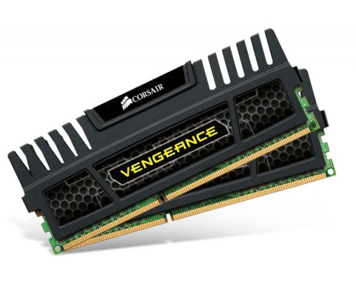 MEMORIA RAM DDR3 1600 CORSAIR VENGEANCE BLACK EDITION 2x4GB