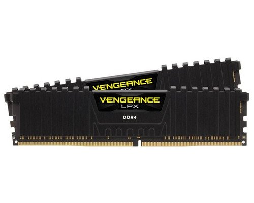 MEMORIA DDR4 3000 CORSAIR VENGEANCE LPX BLACK 2x4GB