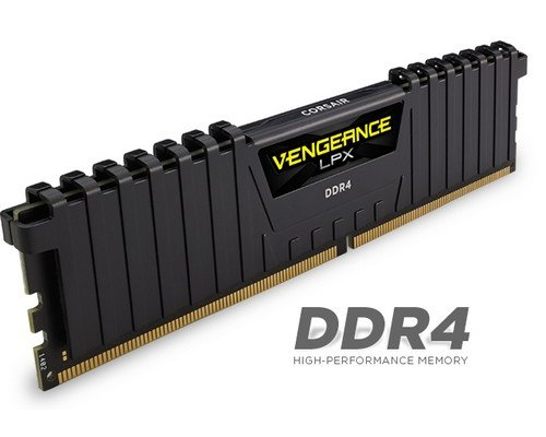 MEMORIA DDR4 3000 CORSAIR VENGEANCE BLACK 1.35V 16GB