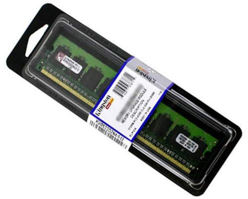 MEMORIA RAM DDR2 800 KINGSTON 1GB KVR800D2N6/1G