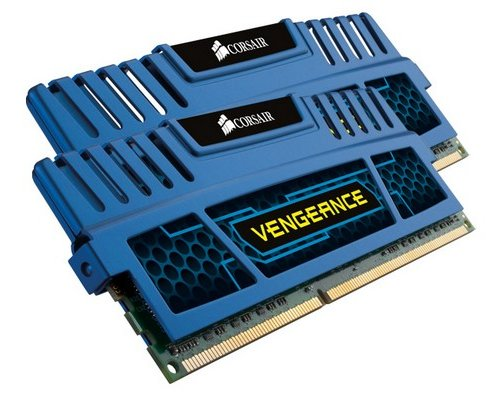 MEMORIA RAM DDR3 1600 CORSAIR VENGEANCE BLUE EDITION 2x4GB