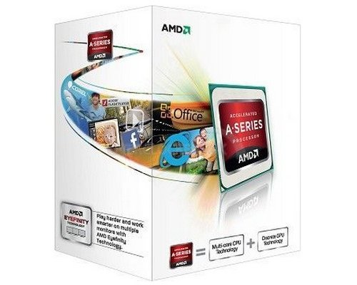 PROCESADOR AMD A4 X2 5300 3.4GHz HD7480D (BOX) FM2