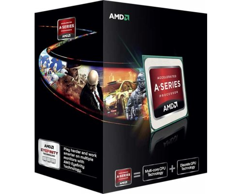 PROCESADOR AMD A6 X2 6400K 3.9Ghz HD8470D (BOX) FM2