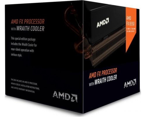 PROCESADOR AMD FX8350 X8 4GHz AM3+ WRAITH COOLER