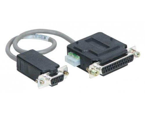 CABLE SERIE RS-232 PARA METROLOGIC MK700 DB25 F - DB9 F CON