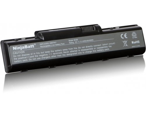 BATERÍA COMPATIBLE ACER 11.1V 4.400mAh AS07A41