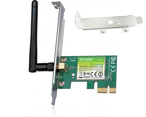 WIFI PCI-EXPRESS TP-LINK TL-WN781ND 150Mbps
