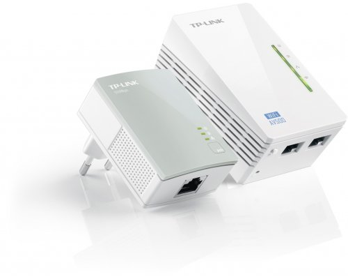 POWERLINE TP-LINK TL-WPA4220KIT 500Mbps WIFI 300Mbps
