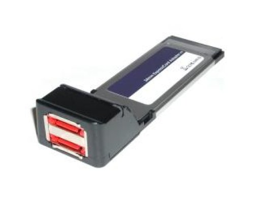 ADAPTADOR EXPRESSCARD A ESATA (2-PORT 34MM) SIL3132