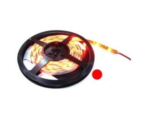 TIRA DE LEDS FLEXIBLE 13 LM/LED 30 LED/M DE 5M IP68 ROJO