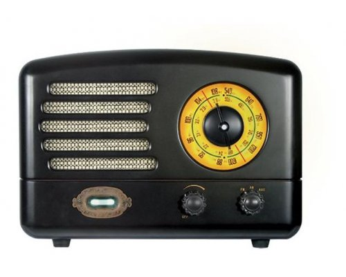 "RADIO AM/FM SONICGEAR RETRO ""TUBE AMPLIFIER"""