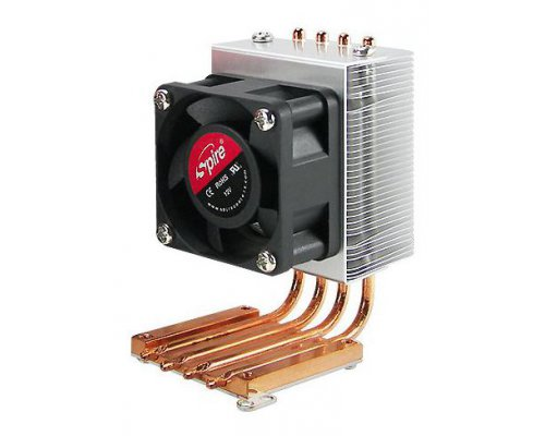 COOLER DE CHIPSET NORTHBRIDGE 4 X HEAT PIPES VENTILADOR 40 M