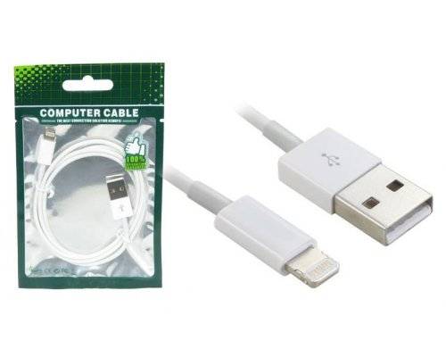 CABLE USB COMPATIBLE CON IPHONE 5 08P.