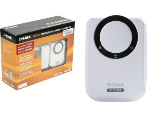 KIT POWERLINE D-LINK DHP-301 HD 200MBPS