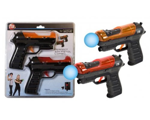 KIT DE 2 PISTOLAS CON OBJECTIVO COMPATIBLE CON PLAYSTATION M