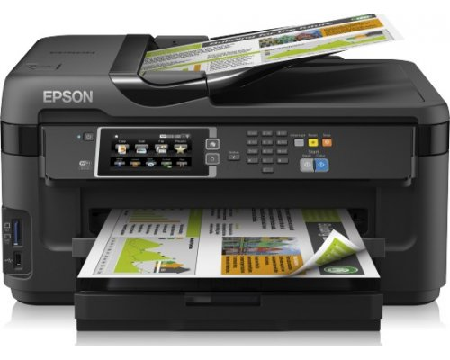 IMPRESORA MULTIFUNCIÓN EPSON WORKFORCE WF-7610DWF WIFI FAX