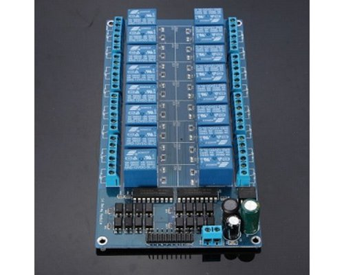 ARDUINO COMPATIBLE KIT 16 RELES ESTADO SOLIDO 16 CANALES 12V
