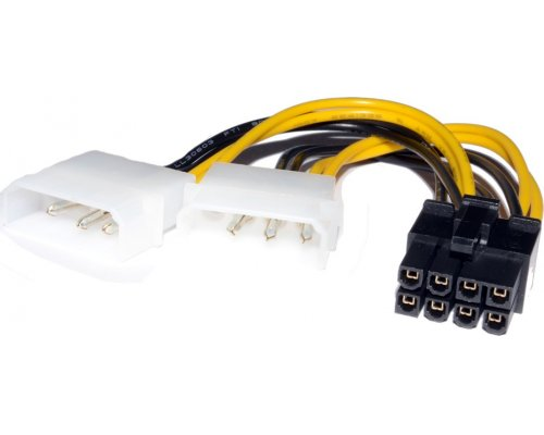 CABLE GRÁFICA PCI-E 8pin/2xMOLEX
