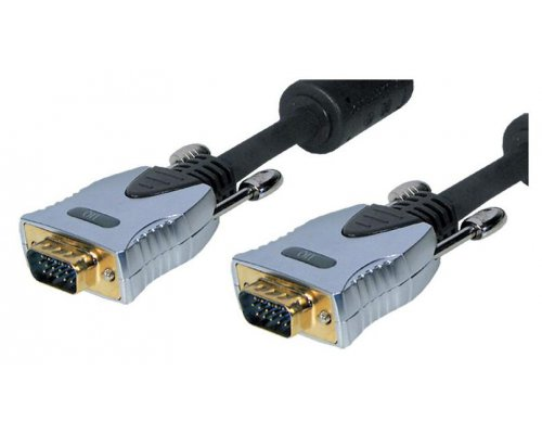 CABLE DE MONITOR VGA GOLD 15P M/M