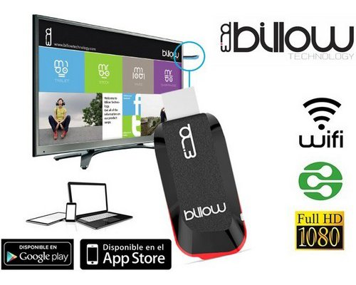 ANDROID TV BILLOW MD01X MIRACAST WIFI APPLE/ANDROID