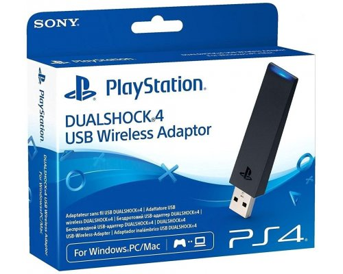 ADAPTADOR WIRELESS USB SONY DUALSHOCK 4 PS4 PC/MAC