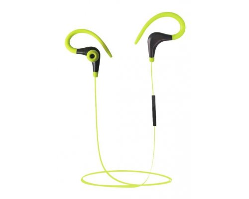 AURICULARES + MICRO COOLBOX COOLSPORT YELLOW BLUETOOTH