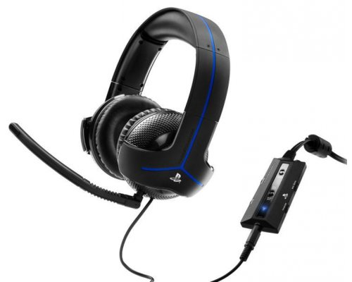 AURICULARES + MICRO THRUSTMASTER Y-300P PS3/PS4